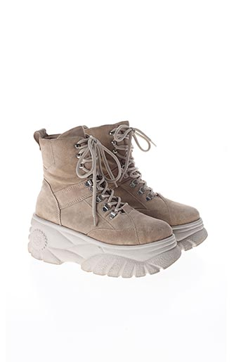 Bottines/Boots beige URBAN OUTFITTERS pour femme