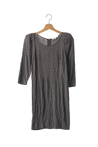 Robe mi-longue noir SANDRO pour femme