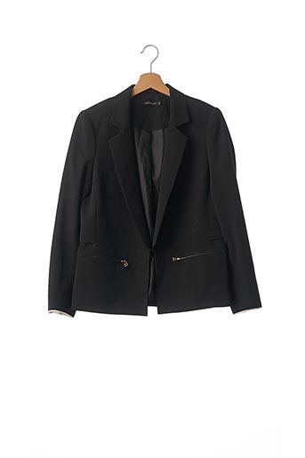 Veste chic / Blazer noir COLOR BLOCK pour femme