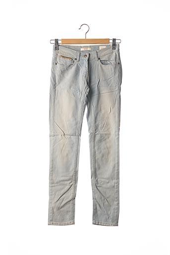 Jeans coupe slim bleu BERENICE pour femme