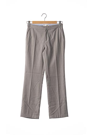 Pantalon casual gris SEE U SOON pour femme