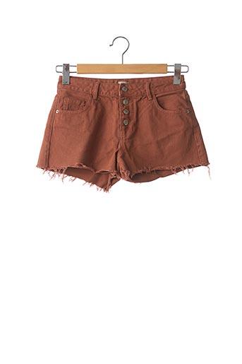 Short marron PIMKIE pour femme