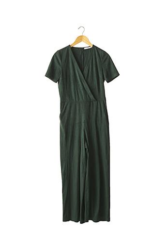 Combi-pantalon vert MANGO pour femme