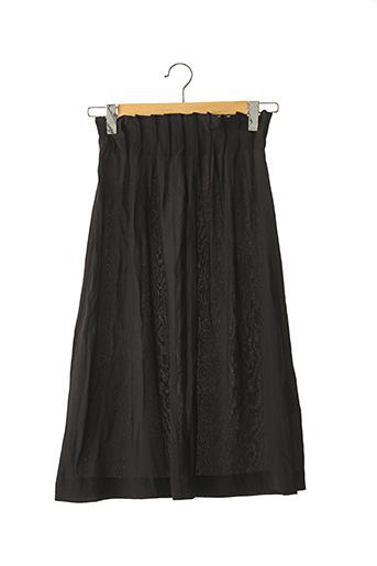 Jupe longue noir KARMA KOMA pour femme