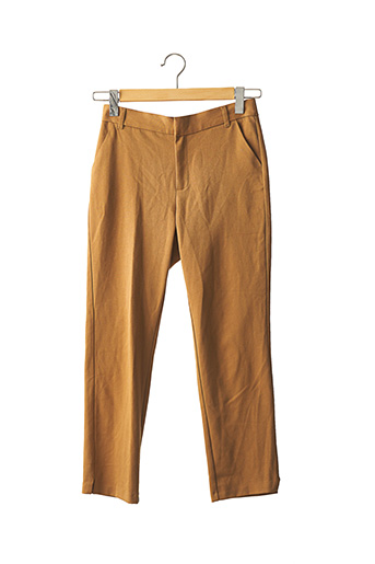 Pantalon casual marron ZARA pour femme
