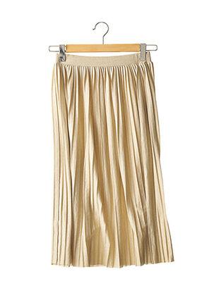 Jupe longue beige MANGO pour femme
