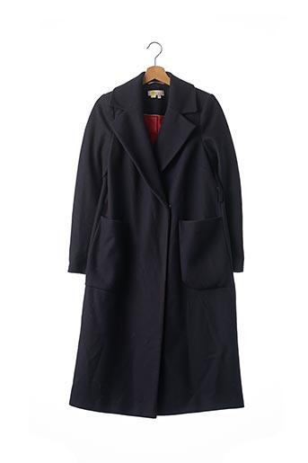 Manteau long bleu BODEN pour femme