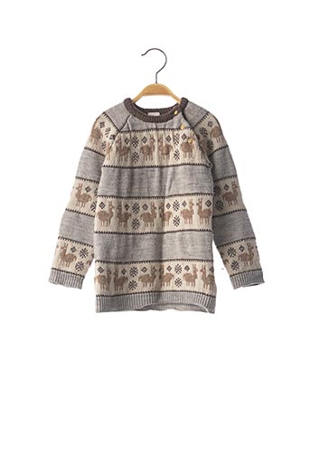 Robe pull gris H&M pour fille