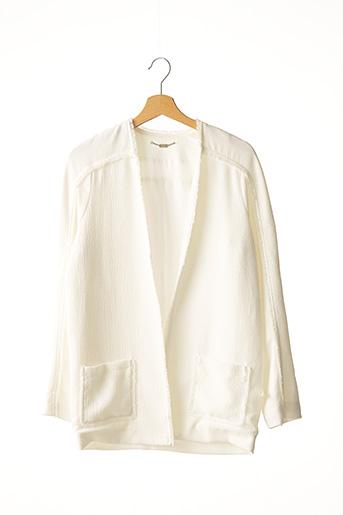 Veste chic / Blazer blanc BEL AIR pour femme