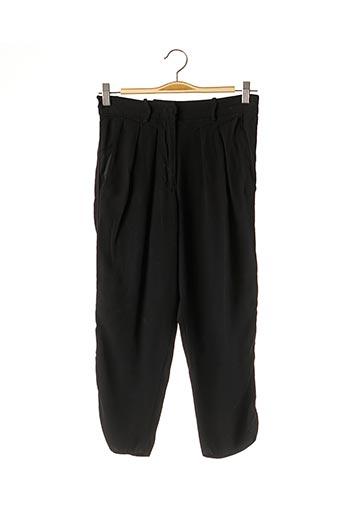 Pantalon 7/8 noir ISABEL MARANT pour femme