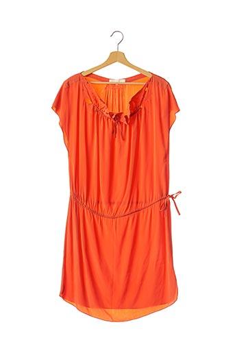 Robe mi-longue orange VANESSA BRUNO pour femme