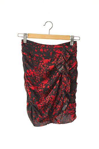 Jupe mi-longue rouge ISABEL MARANT pour femme