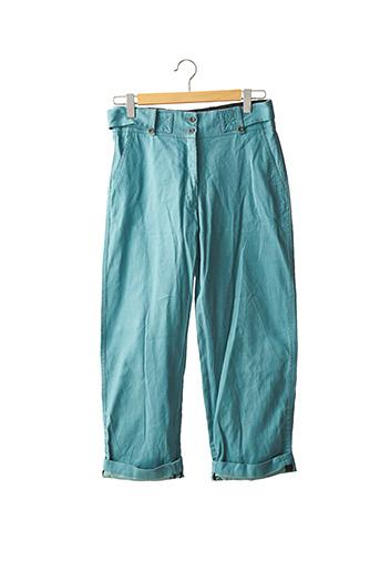Pantalon casual bleu DRIES VAN NOTEN pour femme