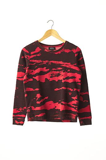 Sweat-shirt rouge A.P.C. pour femme