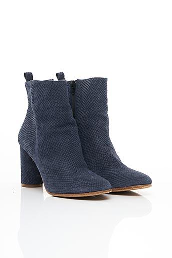Bottines/Boots bleu MAJE pour femme
