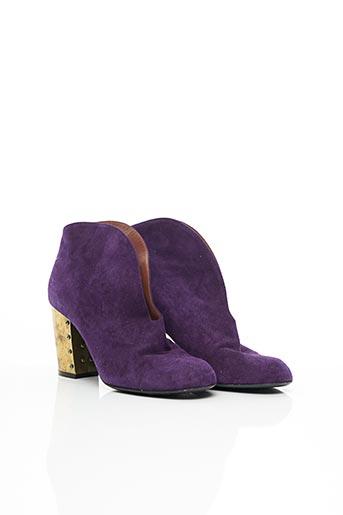 Bottines/Boots violet SONIA RYKIEL pour femme