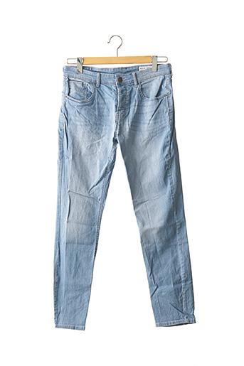 Jeans coupe slim bleu DENIM CO pour femme