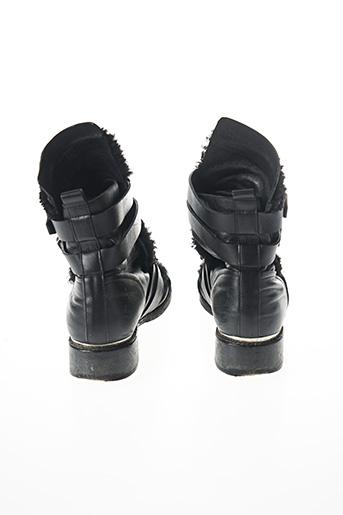 Bottines/Boots noir SANS MARQUE pour femme