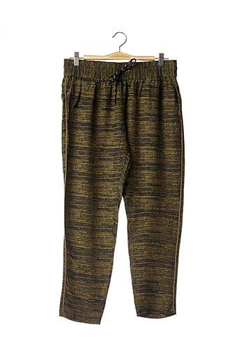 Pantalon casual vert DESIGNERS REMIX COLLECTION pour femme