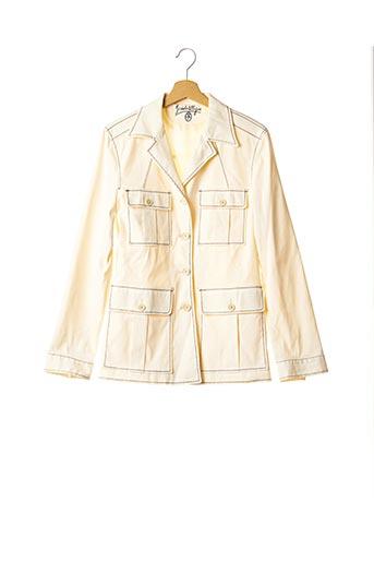 Veste casual beige CASTELBAJAC pour femme