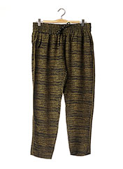 Pantalon casual vert DESIGNERS REMIX COLLECTION pour femme seconde vue