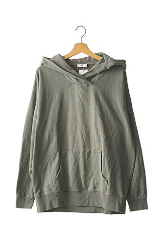 Sweat-shirt gris CLOSED pour femme