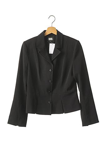 Veste chic / Blazer noir NATHALIE CHAIZE pour femme