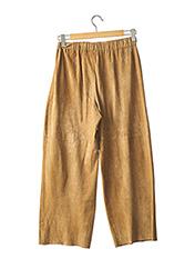 Pantalon casual beige SYLVIE SCHIMMEL pour femme seconde vue