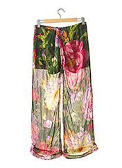 Pantalon casual vert TWINSET pour femme seconde vue