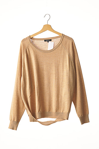 Pull col rond marron BARBARA BUI pour femme