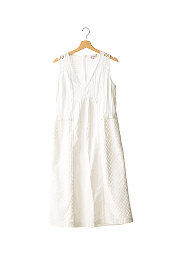 Robe mi-longue blanc PAUL & JOE pour femme