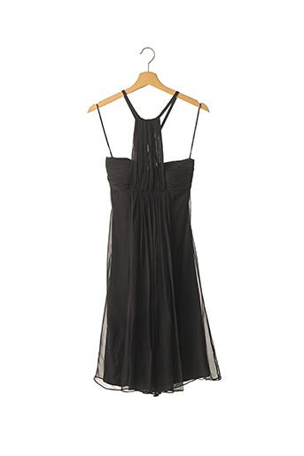 Robe mi-longue noir ZAPA pour femme