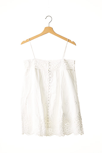 Top blanc DRESS GALLERY pour femme