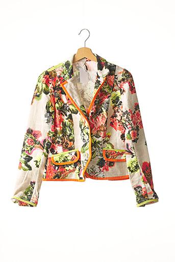 Veste chic / Blazer orange INDIES pour femme