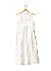 Robe mi-longue blanc PAUL & JOE pour femme seconde vue