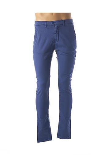 Pantalon casual bleu FRIDAY pour homme
