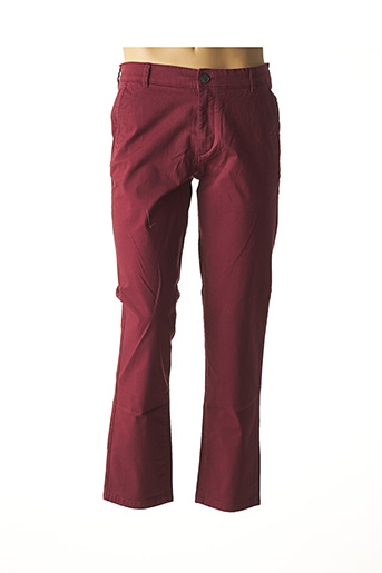 Pantalon chic rouge SELECTED pour homme