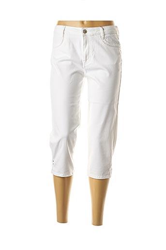 Corsaire blanc KANOPE pour femme