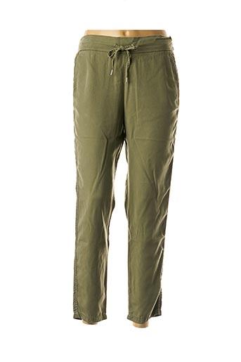 Pantalon casual vert KANOPE pour femme