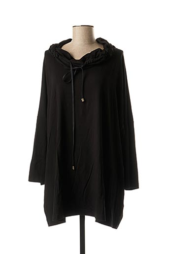 T-shirt manches longues noir EXELLE pour femme