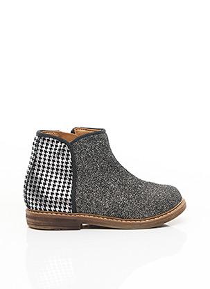 Bottines/Boots gris POM D'API pour fille