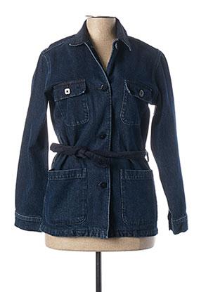 Veste en jean bleu DES PETITS HAUTS pour femme