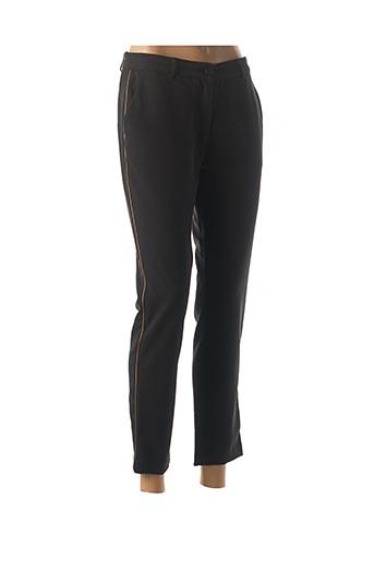 Pantalon 7/8 noir HARRIS WILSON pour femme