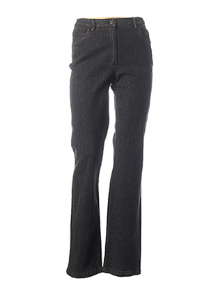 Jeans coupe droite gris JAC JAC pour femme