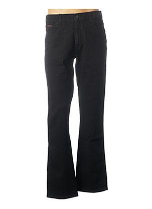 Jeans coupe droite noir WRANGLER pour homme