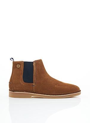 Bottines/Boots marron FAGUO pour homme