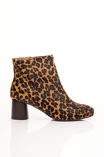 Bottines/Boots beige BENSIMON pour femme