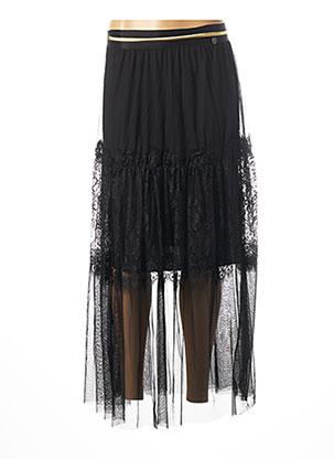 Jupe longue noir BSB pour femme