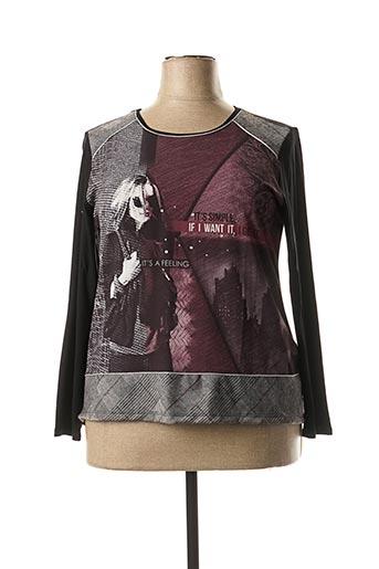 T-shirt manches longues rose MASSANA pour femme