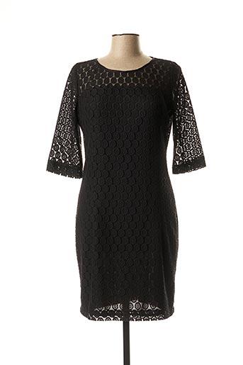 Robe mi-longue noir FARUK pour femme